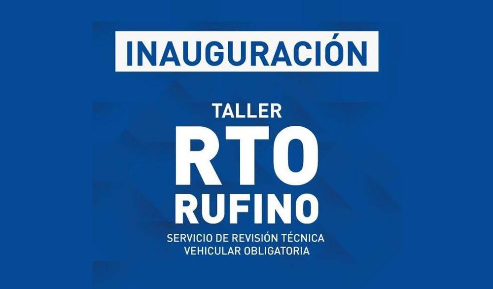 Inauguran el taller de RTO en Rufino