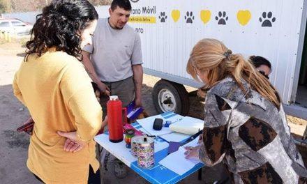 Vacunación antirrábica para mascotas este sabado en Barrio Jardín