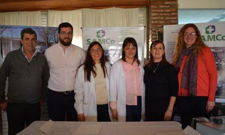 La Provincia firmó un compromiso de colaboración y asistencia en salud con la Municipalidad de Rufino