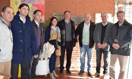 Inauguración de ampliación de planta GLP en Rufino