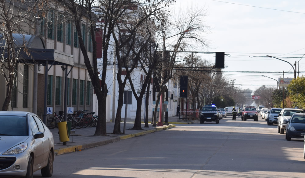 Amenaza de bomba en Colegio Misericordia de Rufino
