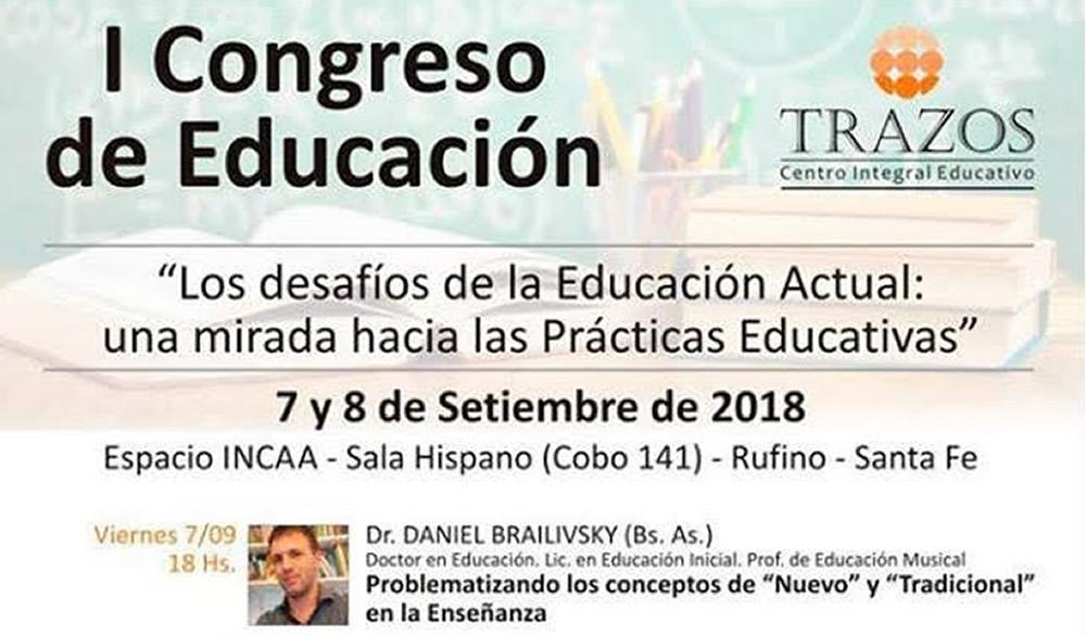 Primer Congreso de Educación en Rufino