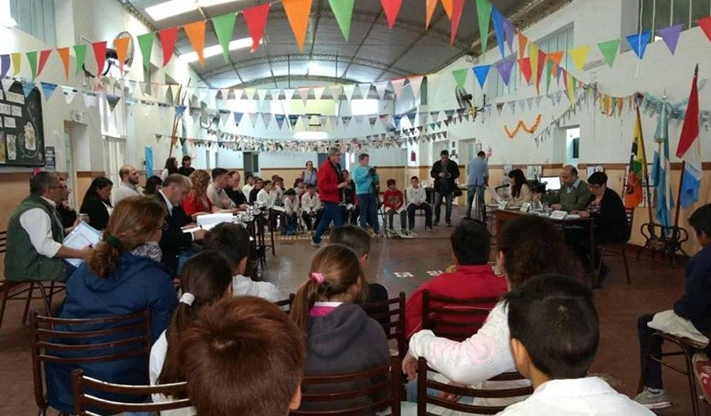 Rufino: los concejales sesionaron en la Escuela 6426