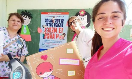 Campaña nacional de vacunación en Rufino