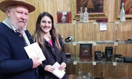 Abel Alexander en el Museo de Rufino