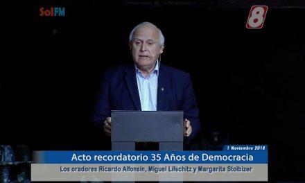 35 Años de Democracia