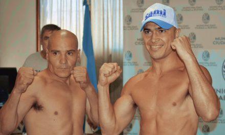 Hoy sábado Box con el «Macho» Araujo