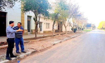Lazzarino: otra localidad de la región a la que llegó el asfalto