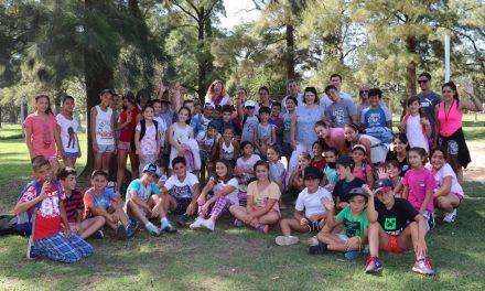 Pieroni visitó Colonia de Vacaciones de Rufino