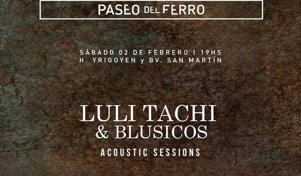 Luli Tachi & Blusicos este sábado en Tanquería