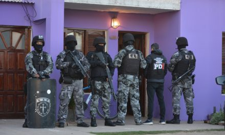 PDI realizó 24 allanamientos en el sur santafesino, entre ellos en Rufino y un efectivo policial pasó a disponibilidad