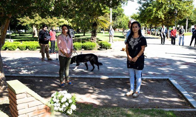 Acto oficial por el Día de la Memoria