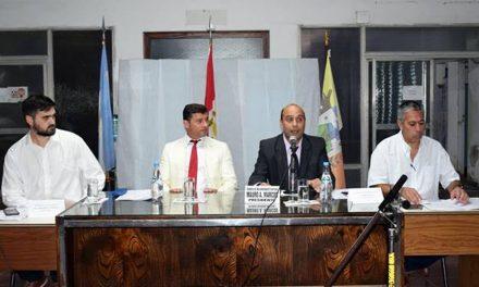 Inicio de sesiones legislativas