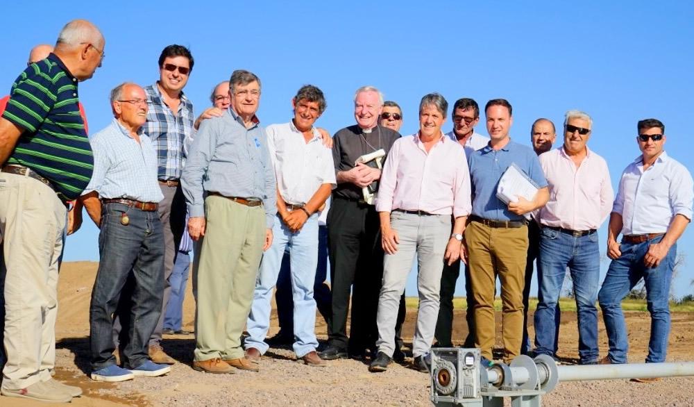 Nuevo canal por gravedad para el descenso de laguna La Picasa