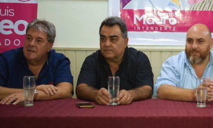 Rubeo presentó su candidatura a diputado en Rufino