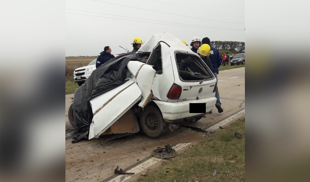Villa Cañás: accidente fatal en Ruta 94