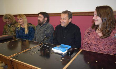 Carlos del Frade y Mercedes Meier en Rufino