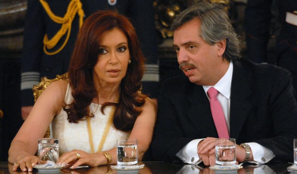 Cristina anunció la fórmula Fernández-Fernández, ella irá de vice
