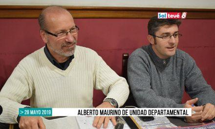 Alberto Maurino de Unidad Departamental a las urnas en Amsafe