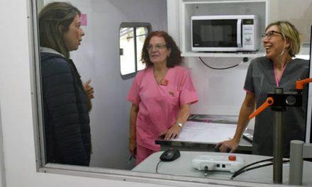 El mamógrafo móvil en Rufino