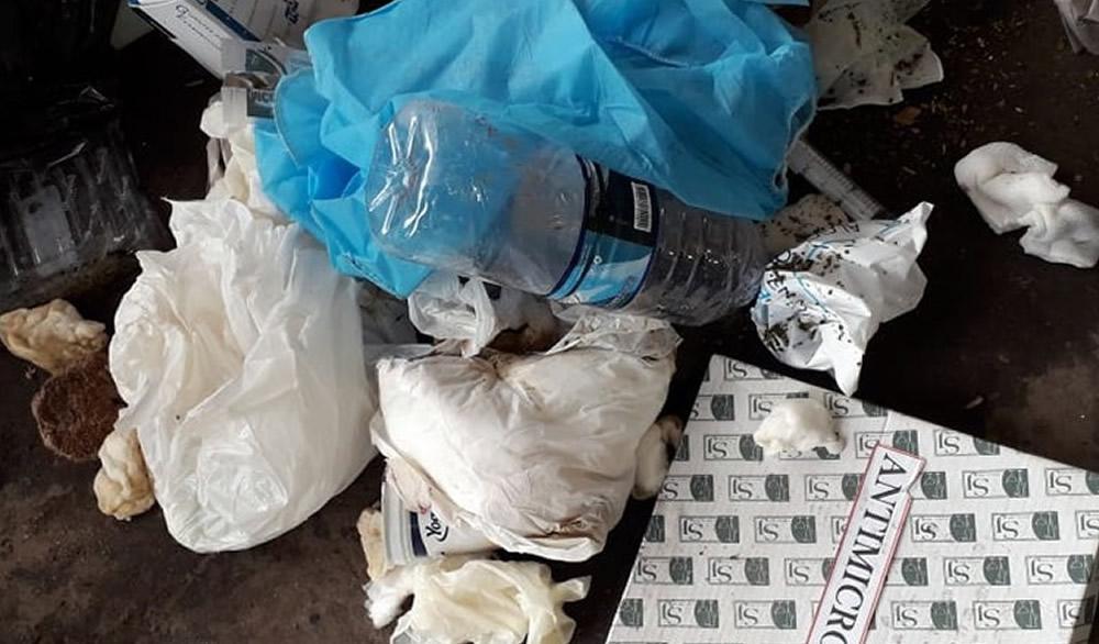 Correcta disposición de residuos patológicos
