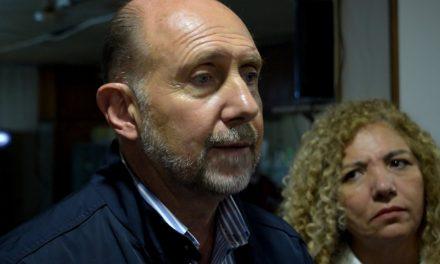 Omar Perotti visitó Rufino