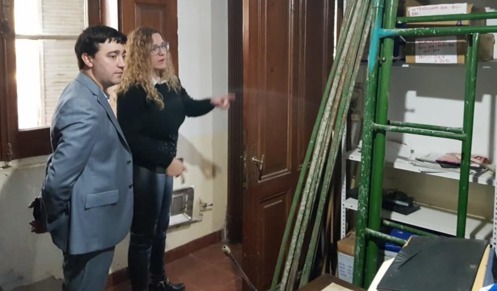 La provincia inició las obras de remodelación del Registro Civil de Rufino