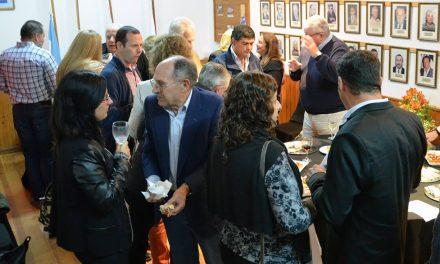 Brindis por logros en Rotary Club Rufino