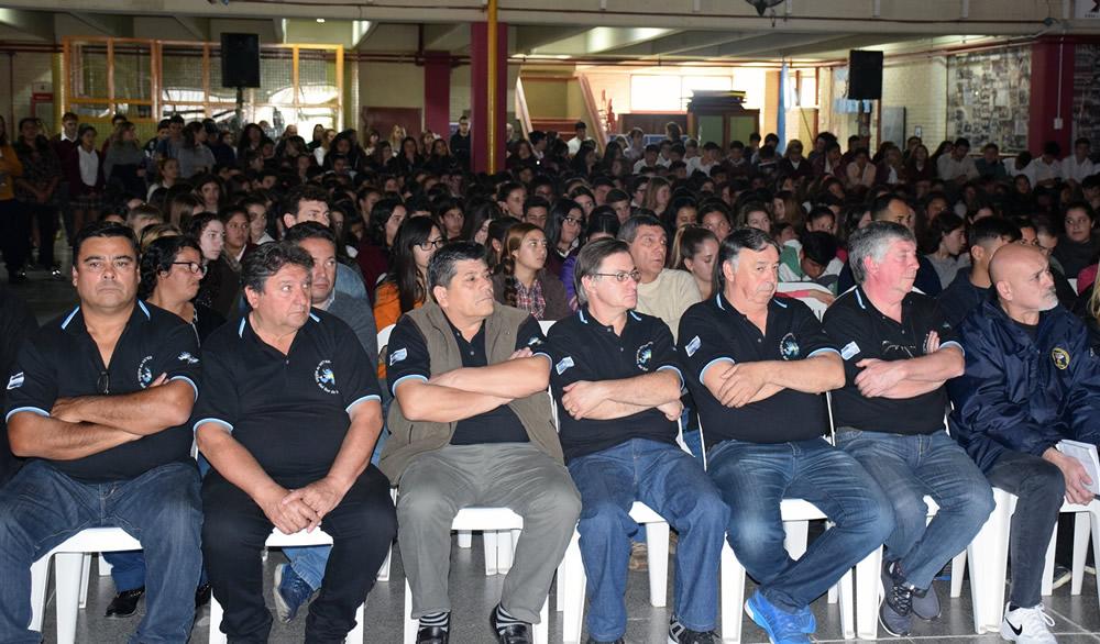 «Pensar en la Soberanía» en Colegio 50 de Rufino