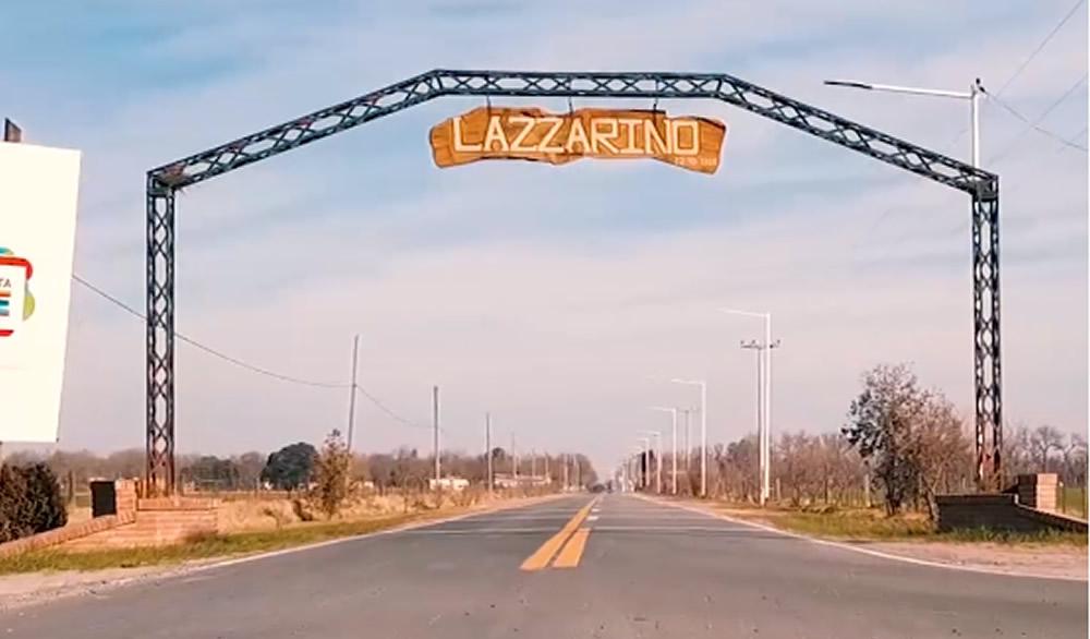 Nuevo acceso a Lazzarino