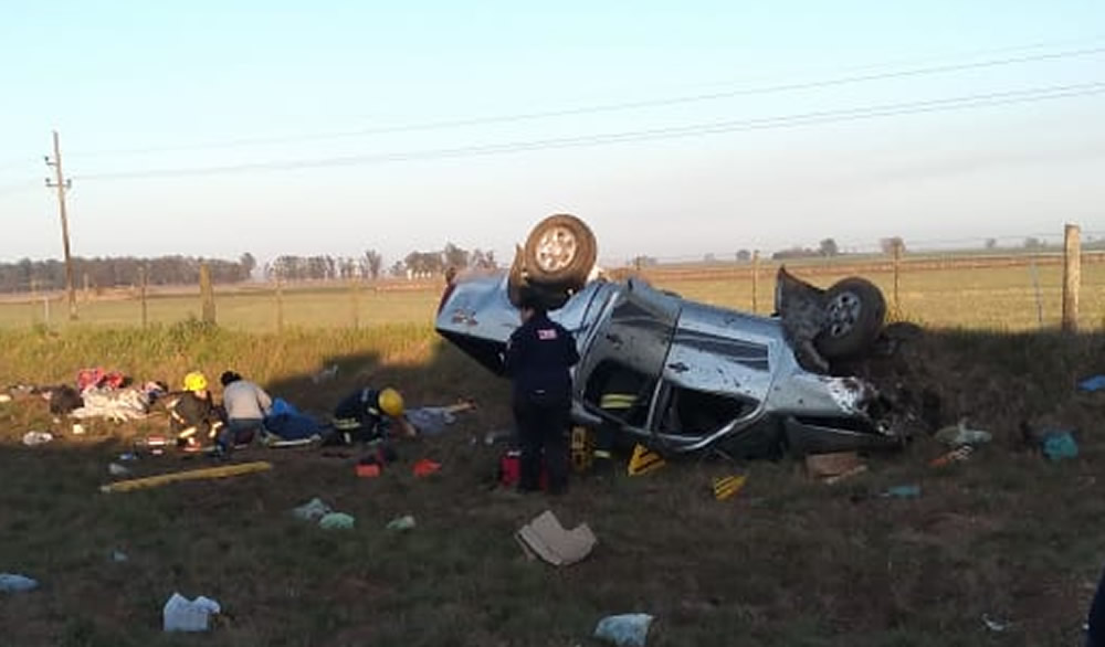 Sancti Spiritu: Accidente fatal en ruta nacional 33