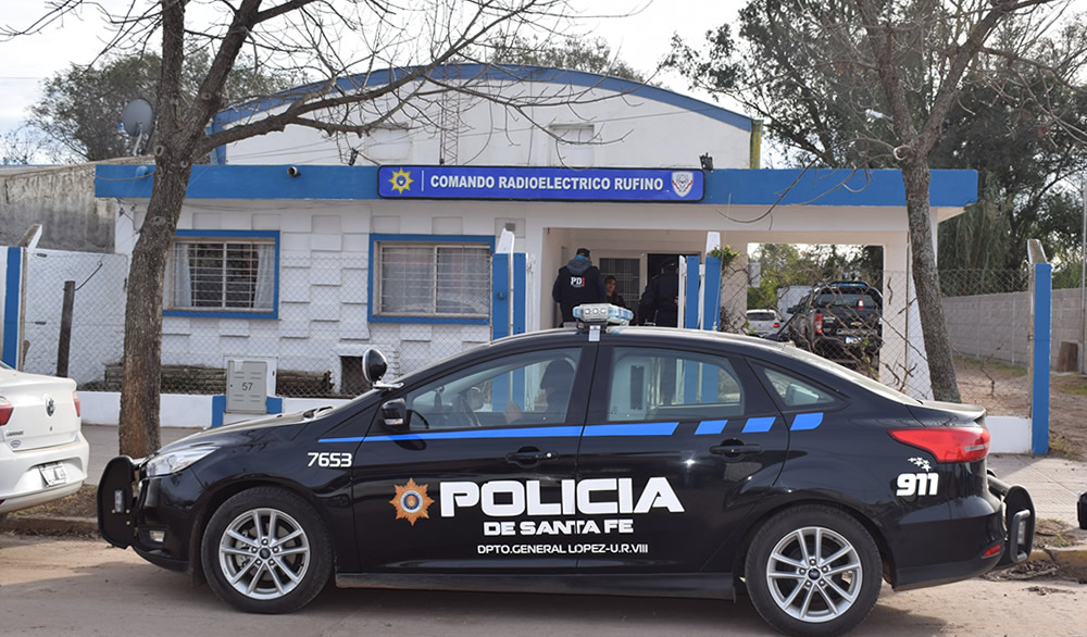 Rufino: detenido por intentar robar una ortopedia y robar dinero de una papelera