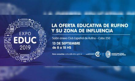 Mañana arranca la Expo Educ 2019