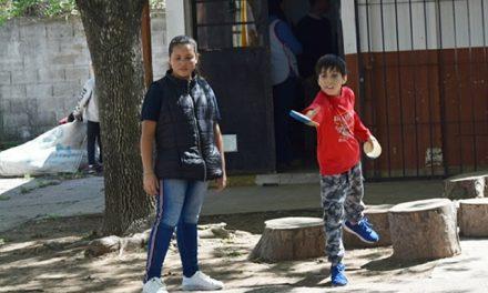 Enrico visitó la escuela 172