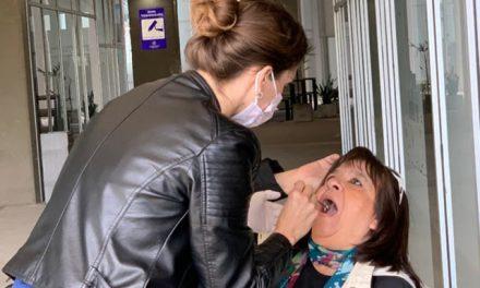 Iapos continúa con la campaña de prevención del cáncer bucal en Venado Tuerto