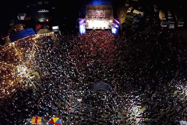 Banda XXI en el cierre de Expo Rufino