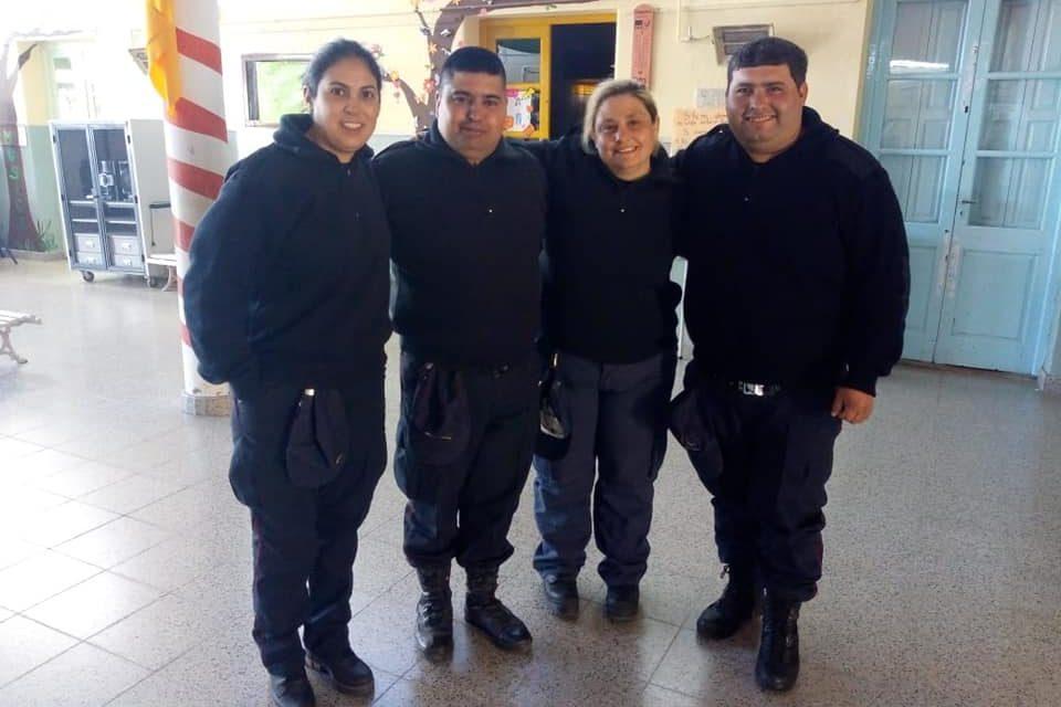 Nuevos Bomberos y ascensos en cuartel de Rufino