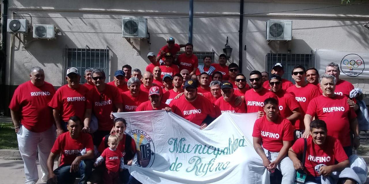 Rufino en las Olimpíadas Municipales de Funes