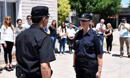 SubCrio Verónica Falchetto asumió como jefa de la  Comisaría 3ra de Rufino