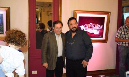 Reconocimiento al pintor JORGE RAJADELL por su destacada trayectoria en el arte y cultura pictórica