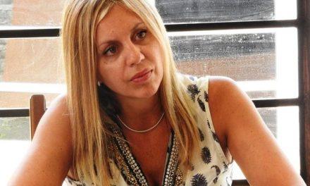 """Senadora Sacnun en Seminario """"Soberanía y Derechos Energéticos"""""""