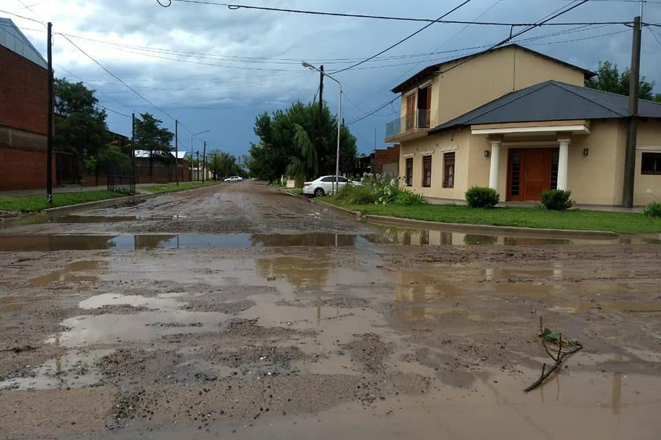 Informe municipal después de los 90 mm de lluvia precipitados sobre Rufino