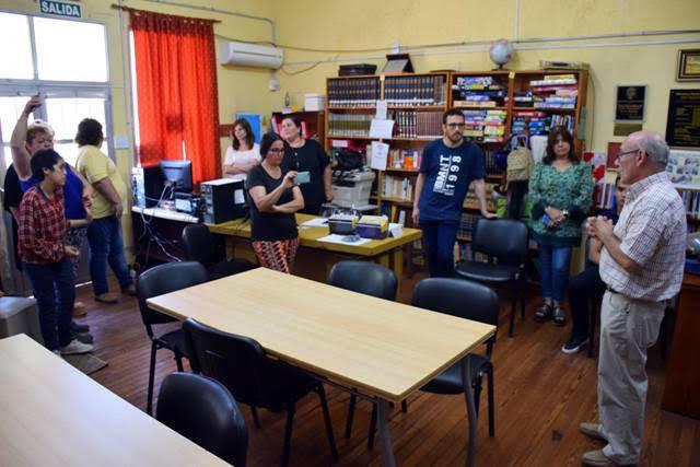 """Biblioteca inclusiva: """"Cuando los oídos leen"""""""