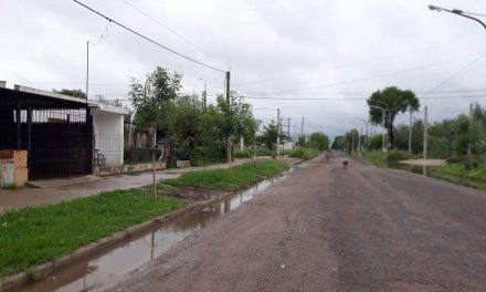 Informe municipal luego de las lluvias