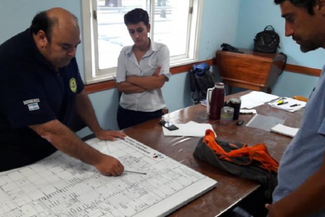 El gobierno provincial asiste en la emergencia climática a Venado Tuerto y la zona
