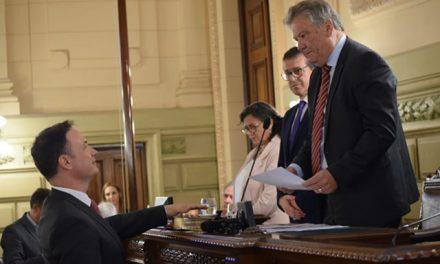 Lisandro Enrico renovó su compromiso con el departamento General López