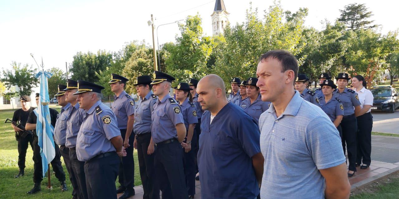 136 aniversario de la Jefatura de Policía de la Unidad Regional VIII Departamento General López