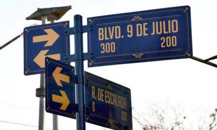 Cambios de circulación en el barrio Gral San Martín