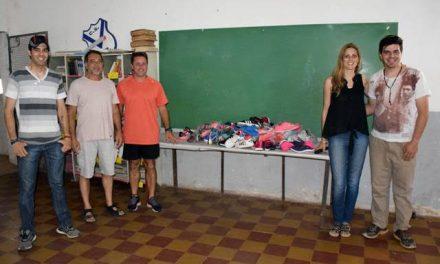 Zapatillas para el Club Belgrano