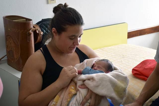 Primer bebé del año rufinense